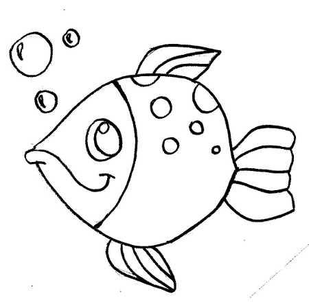 pez-para-colorear » Proyectos y trabajos escolares