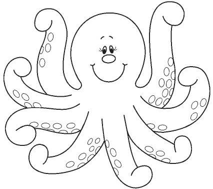 Dibujos de animales marinos para colorear » Proyectos y trabajos ...