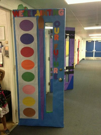 Classroom Decoration Ideas For Back To School ~ Ideas para decorar las puertas de nuestra clase
