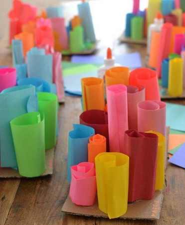 esculturas en papel 3