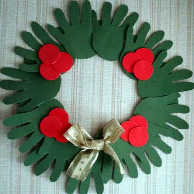 Adornos navideños con fieltro5