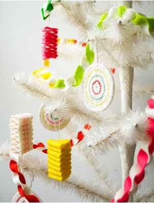 Adornos navideños con fieltro6