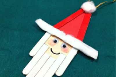 Adornos navideños con palitos de helados6
