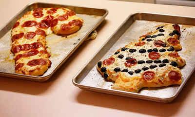 Pizzas navideñas y otras ideas culinarias sorprendentes
